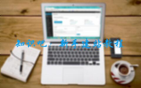 新手如何快速搭建一个网站?知识吧:新手建站教程